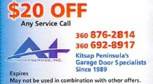 Get $20 off on any service call.